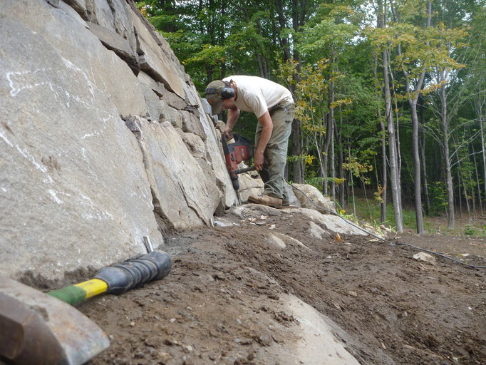 Pinning the ledge wall