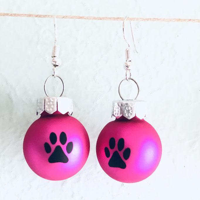 pink matt / schwarz
