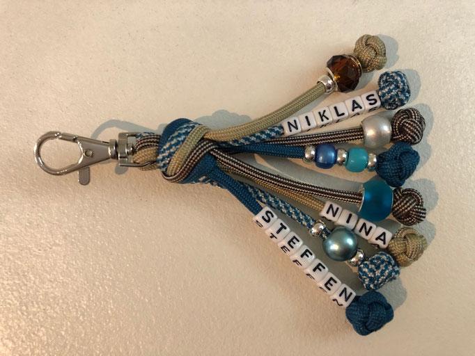 Schlüsselanhänger mit Matthew Walker Knot
