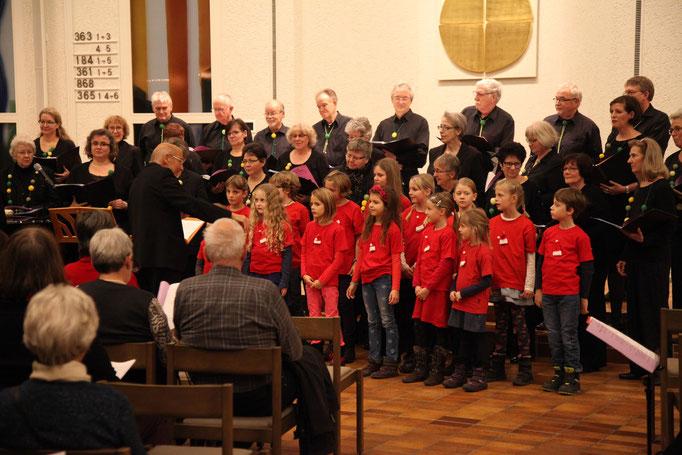 Chor BOLLITT'o misto und Kinderchor Ittigen