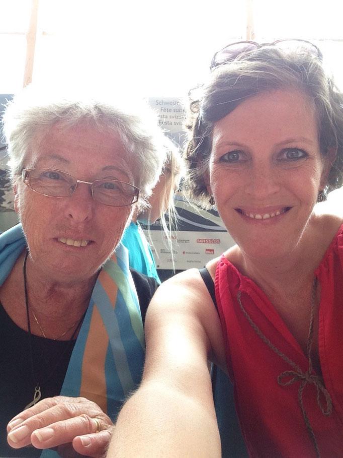 Rosmarie Wieland und Barbara Bangerter