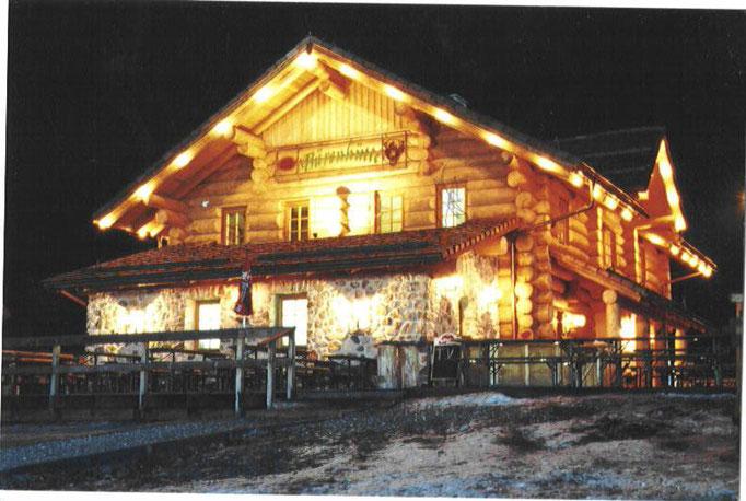Die Bärenhütte Nassfeld / Tröpolach im Winter
