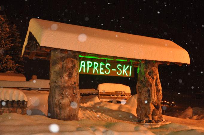 Apres-Ski in der Bärenhütte