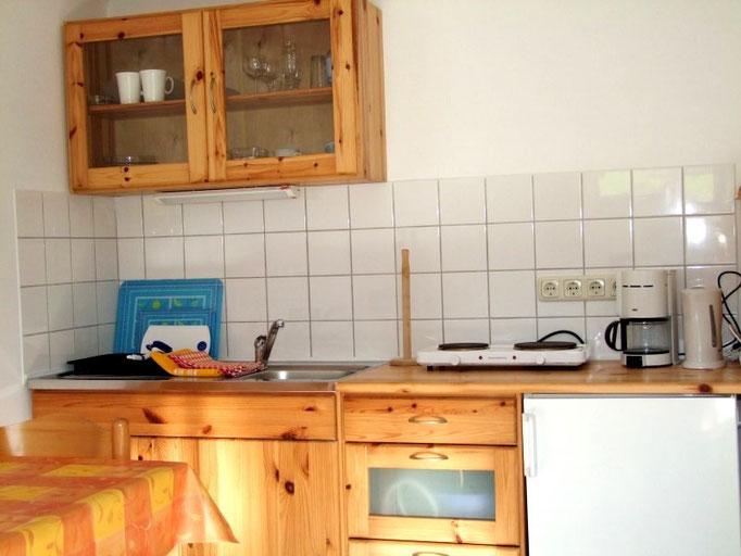 Die Küche mit allem, was Sie benötigen