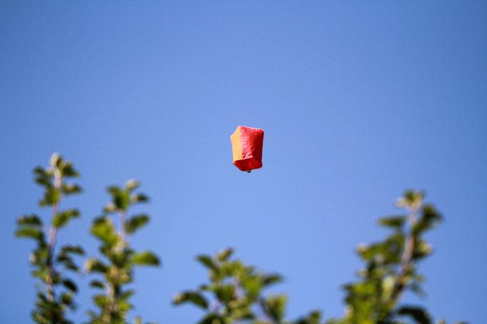 Der letzte Heissluftballon...