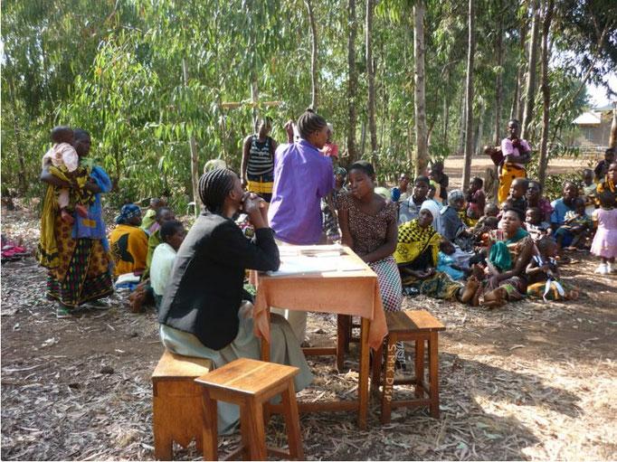 Unterricht in Tansania