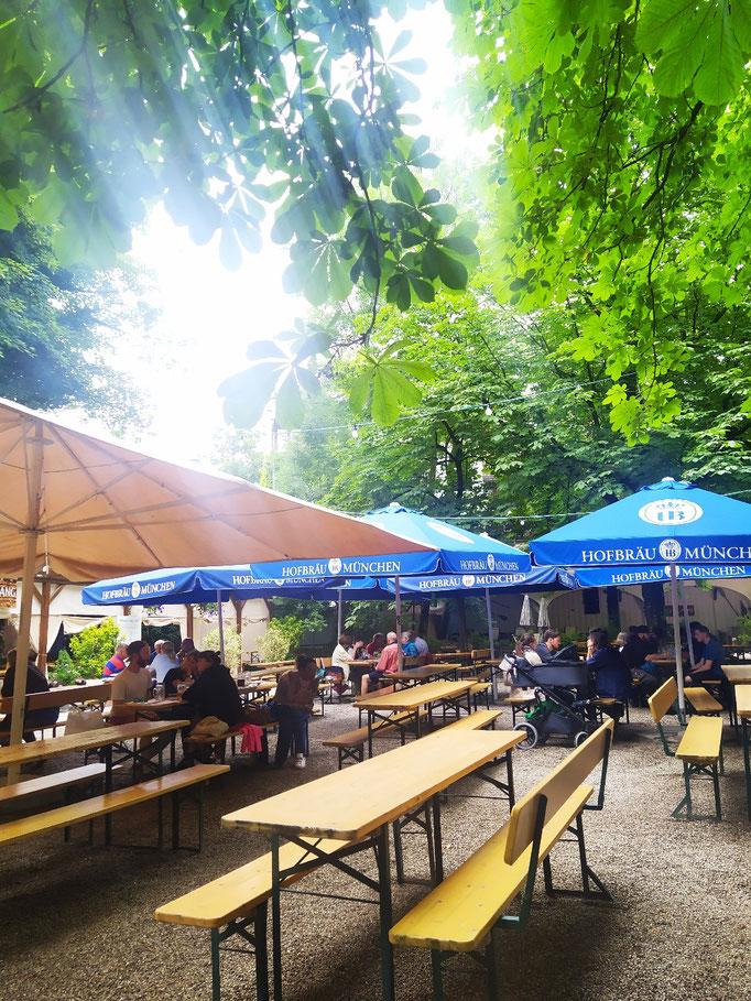 Hofbräukeller Biergarten