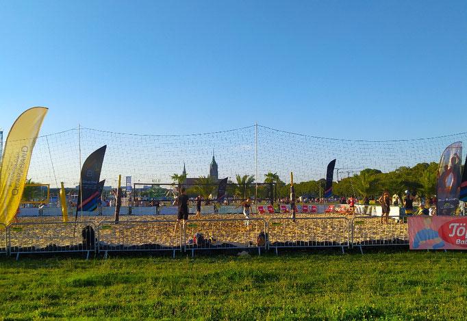 Beach-Volleyball - Sommerprojekt auf der Wiesn!!! 29.07.21