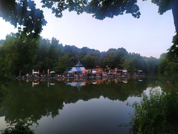 Mollsee im Westpark