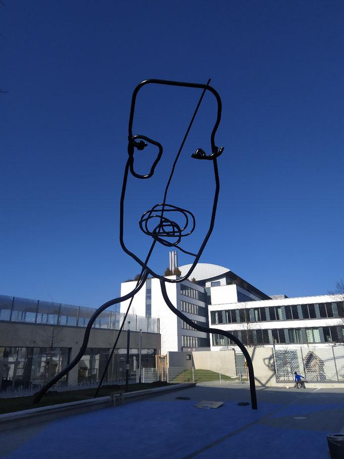 Schulhof an der Ruppertstr., 07.03.2021