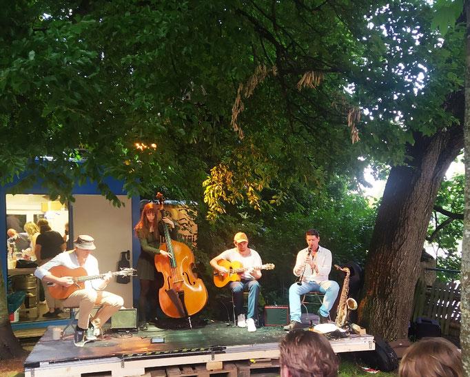 """Kulturstrand"" - eine Live-Band ... 10. Juli '21"