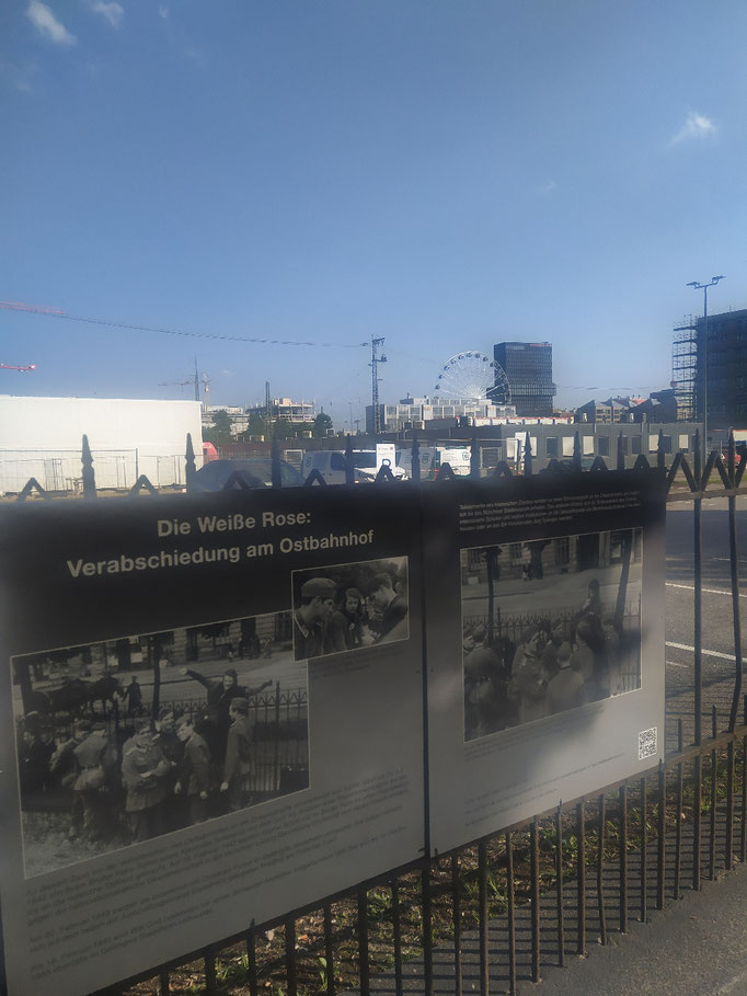 ... historischer Platz Nähe Ostbahnhof