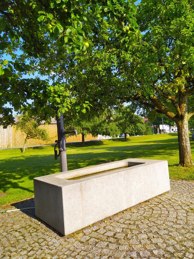 Brunnen in Hergolding, 23.07.21