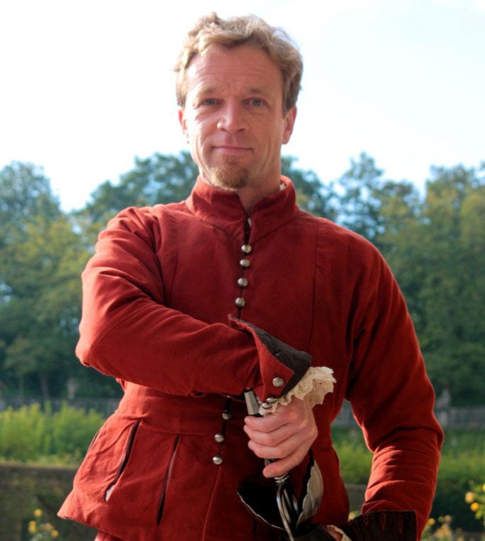 """09/2010 lichtdouble für christoph waltz in """"die 3 musketiere"""" (kinofilm 2011) ..."""
