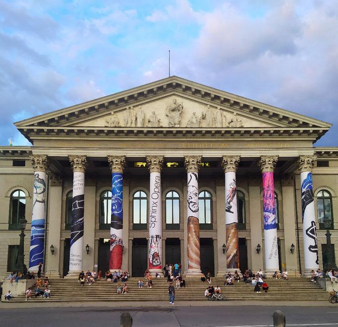 Tagesausklang an der Oper, 10. Juli '21
