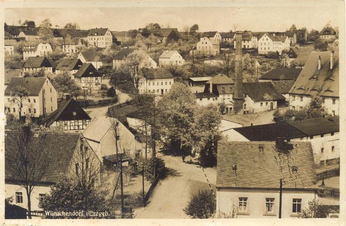 Wünschendorf Rittergut um 1920
