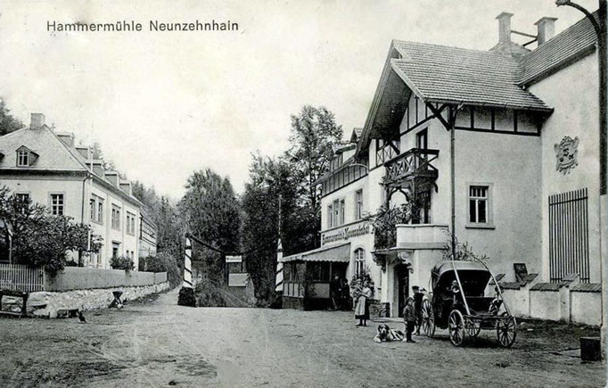 Wünschendorf Erzgebirge Neunzehnhain 1909