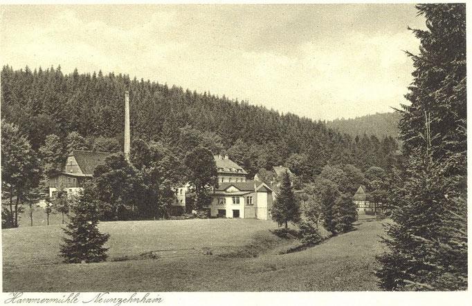Wünschendorf Erzgebirge 1930 Neunzehnhain