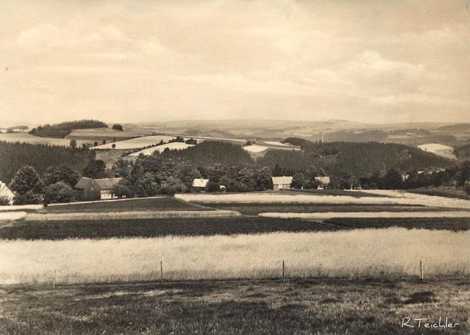 Wünschendorf Erzgebirge Stolzenhain Karte: Archiv Teichler