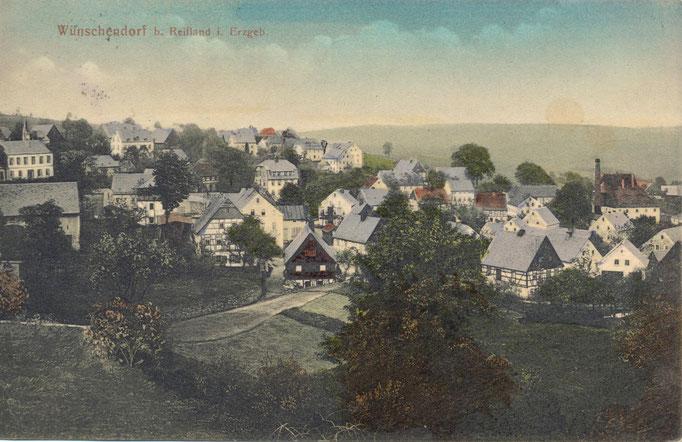 Wünschendorf Erzgebirge Wünschendorf 1919