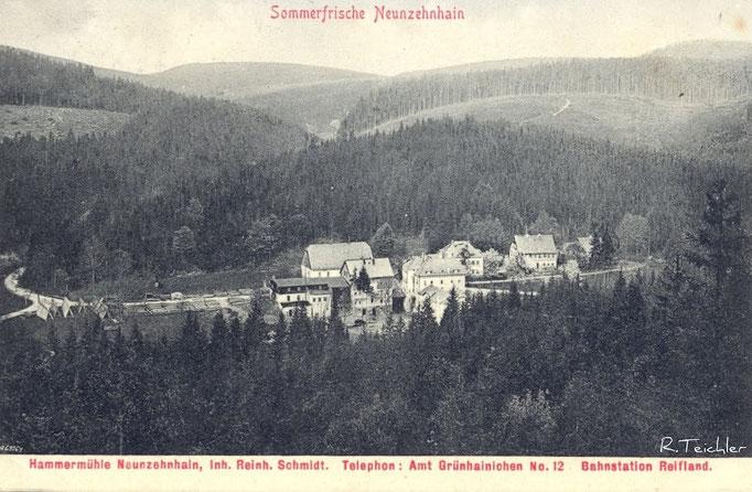 Wünschendorf Erzgebirge 1920