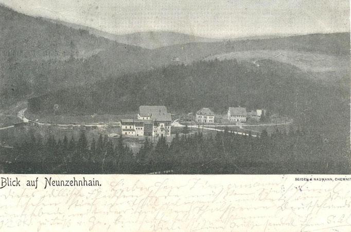 Wünschendorf Erzgebirge um 1900