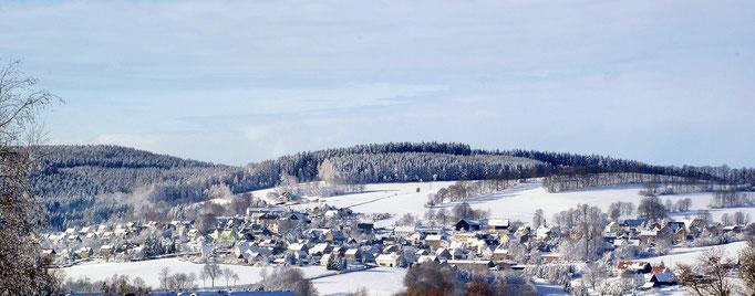 Wünschendorf Erzgebirge Winter 2012