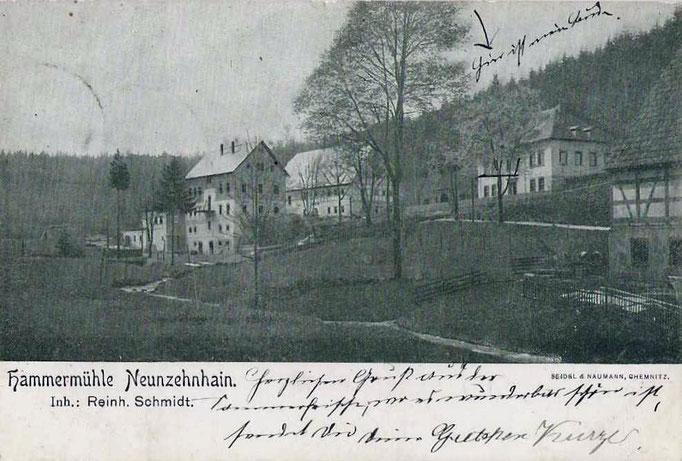 Wünschendorf Erzgebirge 1905