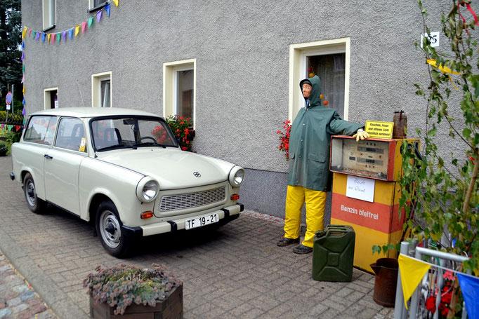 Wünschendorf Erzgebirge Tankstelle Uhlmann