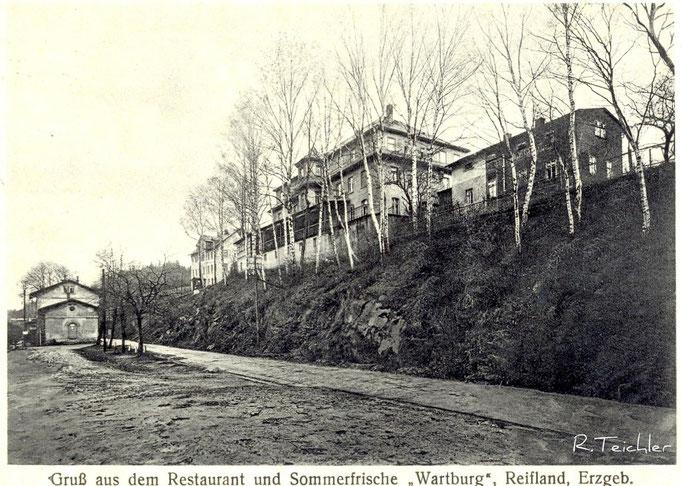 Wünschendorf Erzgebirge Karte: Archiv Teichler