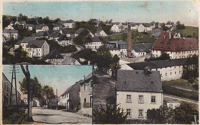 Wünschendorf Erzgebirge Wünschendorf im Erzgebirge etwa 1920