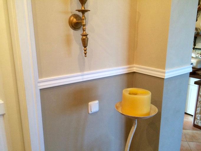 Individuelle Gestaltung von Wänden und Stuckleisten