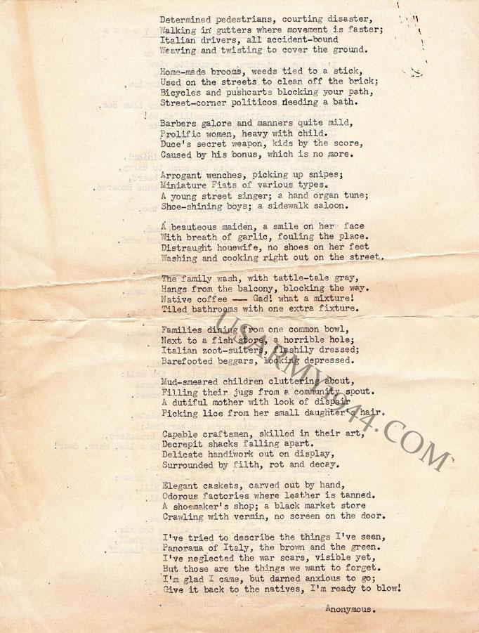 Poesia facciata 2