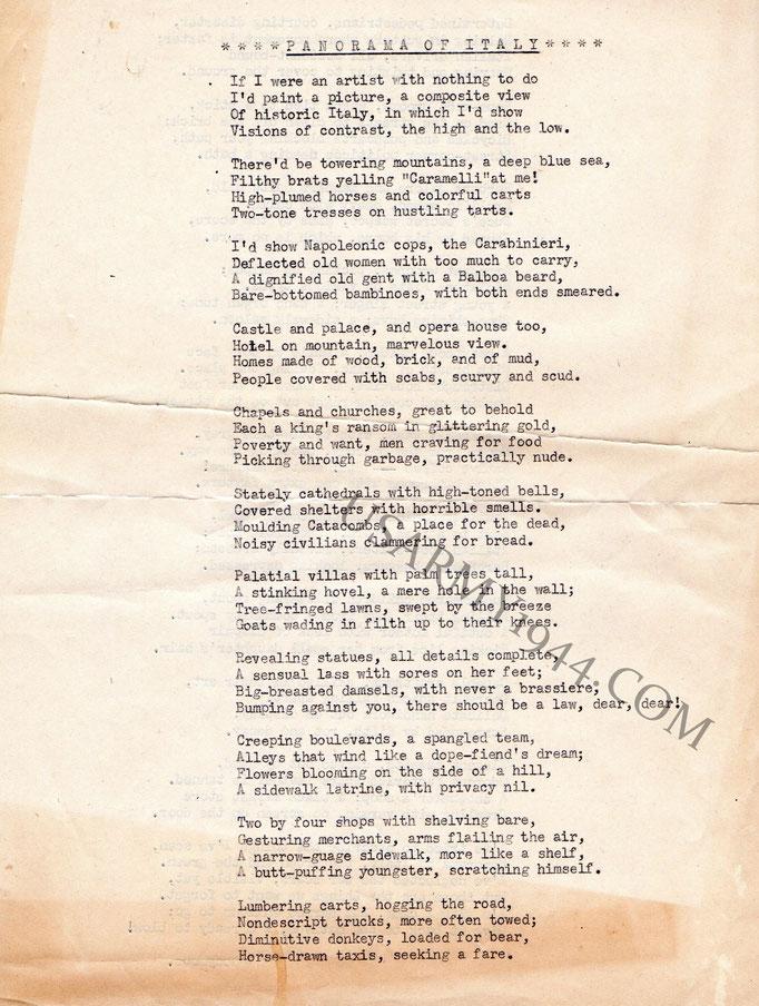 Poesia facciata 1