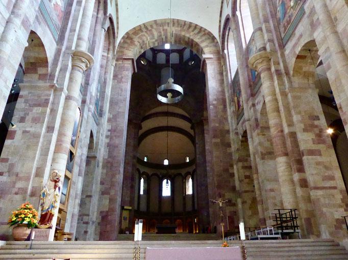 romanischer Dom in Speyer Städtereise  Sehenswürdigkeiten Deutschland, Speyer mit dem Dom