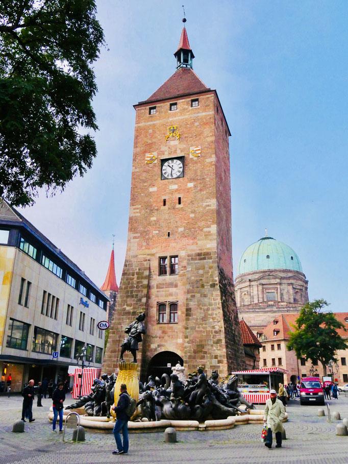 Nürnberger Stadttor Sehenswürdigkeiten Deutschland Nürnberg