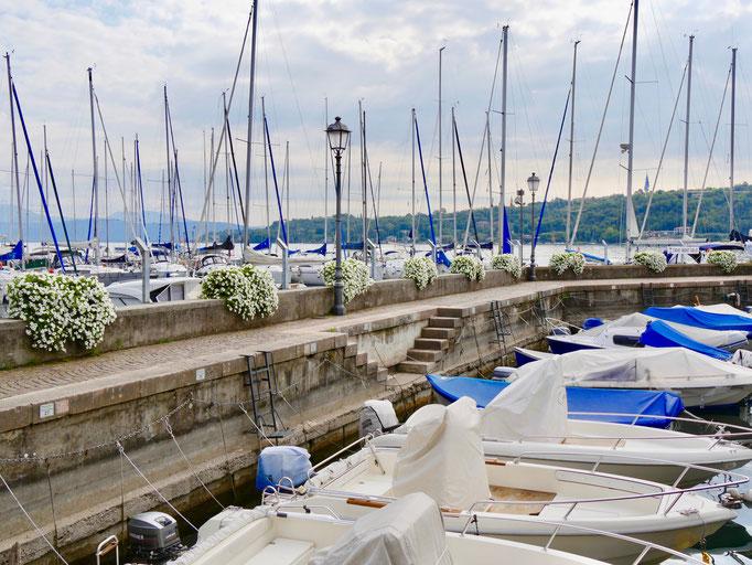 Italien:Hafen von Salo