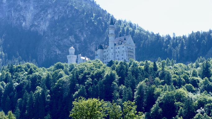Schloss Neuschwanstein, Füssen im Allgäu