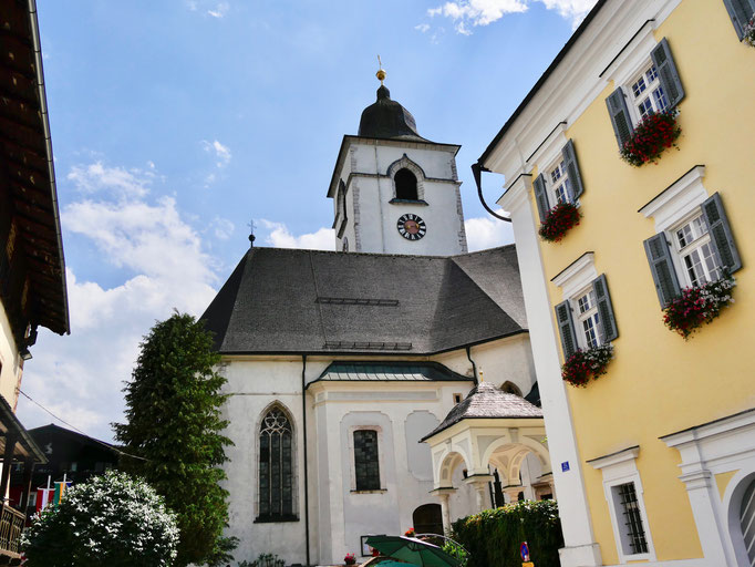 St. Wolfgang am Wolfgangsee  Wolfgangsee Salzkammergut Österreich