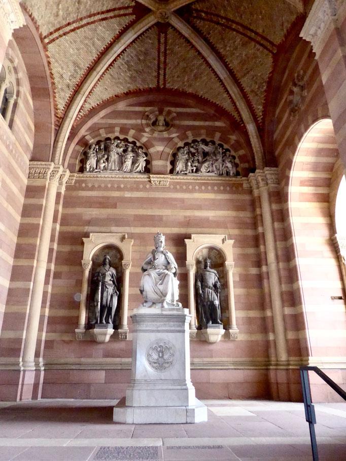 romanischer Dom in Speyer Sehenswürdigkeit