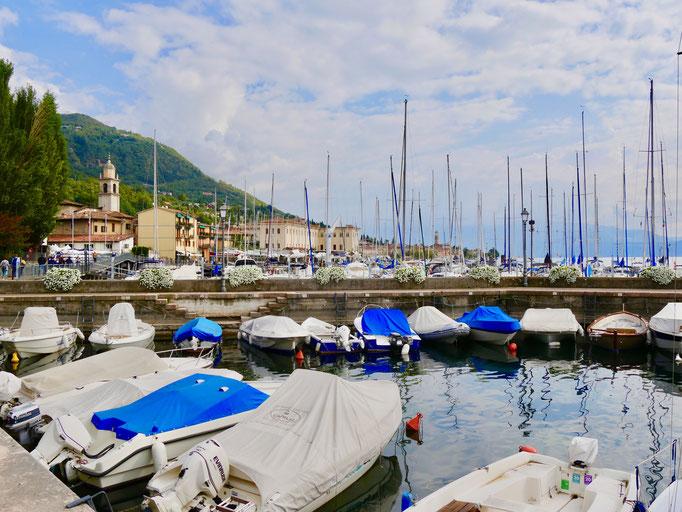 Italien, Gardasee, Yachthafen von Salo