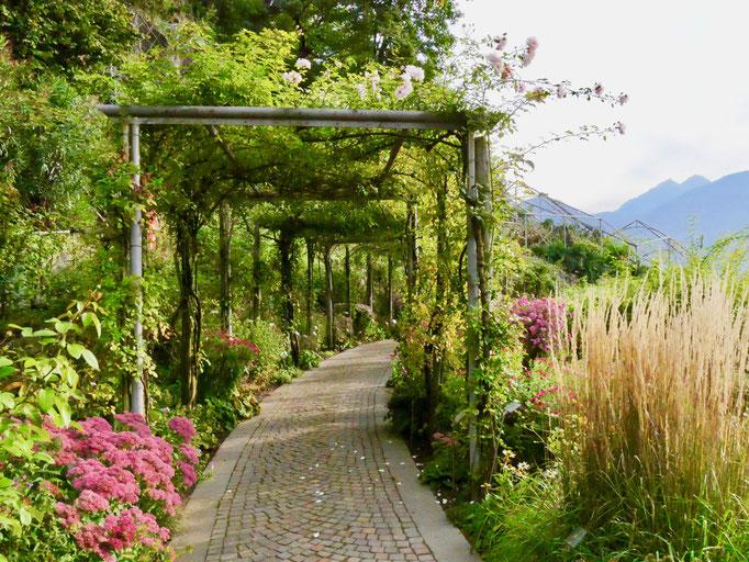 Garten Schloss Trautmannsdorf Meran