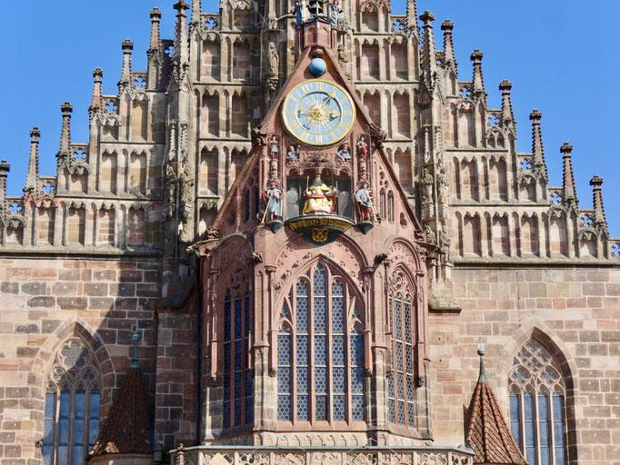 Die Frauenkirche in Nürnberg Sehenswürdigkeiten Deutschland Nürnberg