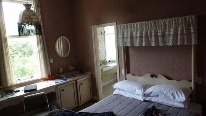 Bild: Mein Bett in der Unterkunft