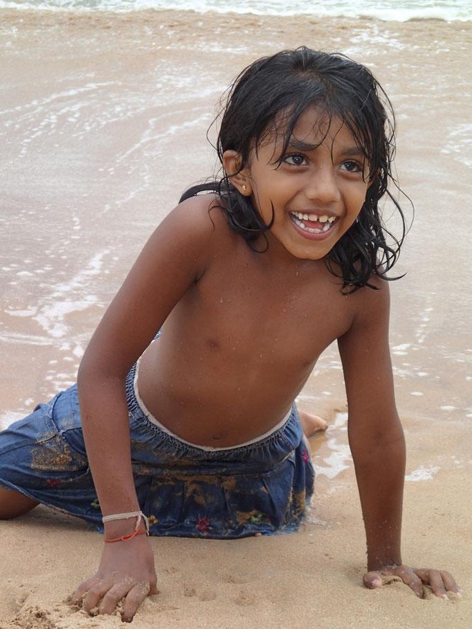 Das Lächeln eines Kindes