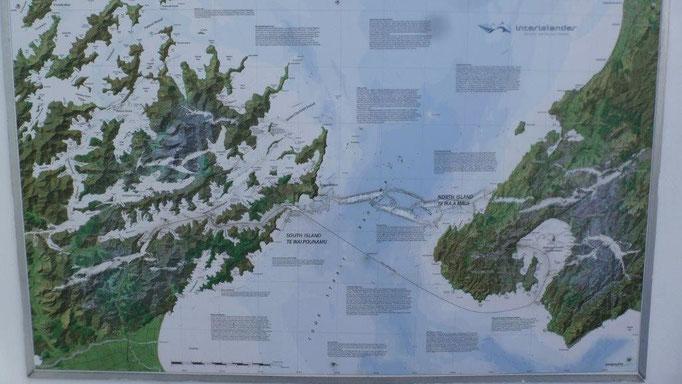 Bild: Karte der Überfahrt