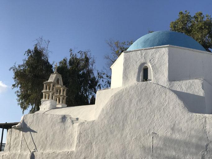 Bild: Kirche mit blauer Kuppel