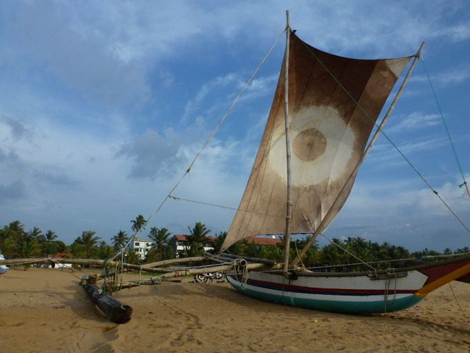Fischerboot in Negombo