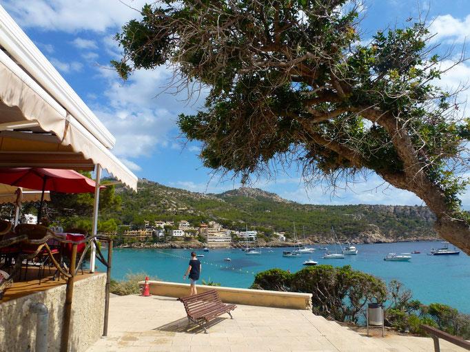Blick in die Bucht von Sant Elm