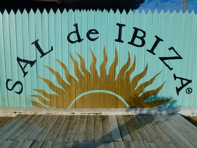 Bild: Werbeschild: Sal de Ibiza